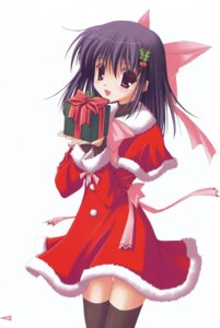 Rating: Safe Score: 23 Tags: christmas nanao_naru thighhighs User: ledzep4zoso