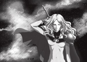 Rating: Safe Score: 5 Tags: armor bodysuit claymore monochrome sword tagme teresa User: charunetra