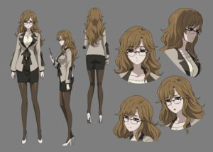 Rating: Safe Score: 25 Tags: business_suit character_design expression heels kiryu_moeka megane pantyhose steins;gate steins;gate_0 transparent_png User: saemonnokami