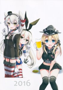 Rating: Questionable Score: 15 Tags: amatsukaze_(kancolle) ayuest ayuya kantai_collection prinz_eugen_(kancolle) seifuku shimakaze_(kancolle) stockings thighhighs User: Radioactive