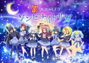 Rating: Safe Score: 14 Tags: dress garter heels hoshikawa_lily konno_junko minamoto_sakura mizuno_ai nikaido_saki pantyhose tagme yamada_tae yuugiri_(zombieland_saga) zombieland_saga User: saemonnokami
