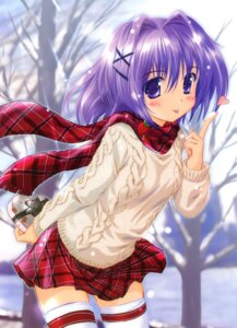 Rating: Safe Score: 37 Tags: komatsu_e-ji thighhighs valentine User: fireattack