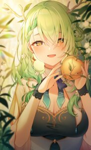 Rating: Safe Score: 26 Tags: ceres_fauna cleavage hololive hololive_english horns reel_(riru) User: BattlequeenYume