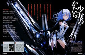 Rating: Questionable Score: 32 Tags: beatless cleavage lacia pantsu redjuice stockings thighhighs User: drop