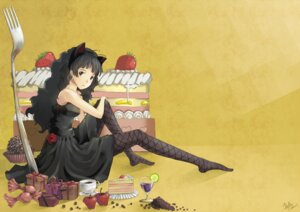Rating: Safe Score: 25 Tags: akiyama_mio animal_ears dafei dress k-on! nekomimi pantyhose User: Manabi