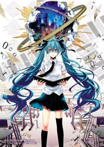 Rating: Safe Score: 11 Tags: hatsune_miku megane stells vocaloid User: animeprincess
