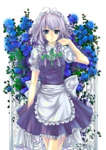 Rating: Safe Score: 32 Tags: izayoi_sakuya lilith_bloody maid touhou User: Nekotsúh