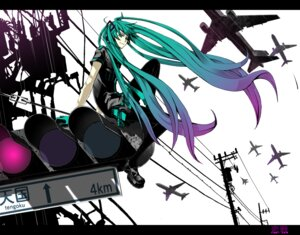 Rating: Safe Score: 16 Tags: belzenef hatsune_miku koi_wa_sensou_(vocaloid) vocaloid User: Radioactive