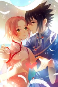 Rating: Safe Score: 4 Tags: asian_clothes chinadress haruno_sakura naruto uchiha_sasuke uri_(513321347) User: charunetra