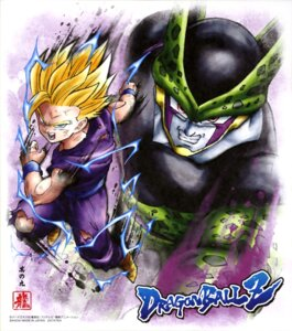 Rating: Questionable Score: 5 Tags: cell_(character) dragon_ball dragon_ball_z male son_gohan torn_clothes User: drop