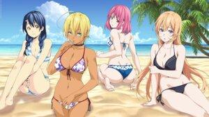 Rating: Questionable Score: 102 Tags: arato_hisako ass bikini breast_hold cleavage mito_ikumi nakiri_erina shokugeki_no_soma swimsuits tadokoro_megumi underboob User: kiyoe