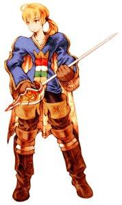 Rating: Safe Score: 4 Tags: final_fantasy final_fantasy_tactics male ramza_beoulve weapon User: Yokaiou