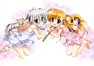 Rating: Questionable Score: 38 Tags: asteion dress einhart_stratos fujima_takuya heterochromia mahou_shoujo_lyrical_nanoha mahou_shoujo_lyrical_nanoha_vivid sacred_heart summer_dress vivio User: drop