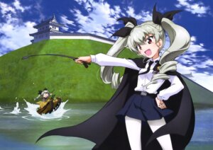 Rating: Safe Score: 17 Tags: anchovy girls_und_panzer pantyhose seifuku uniform weapon User: drop