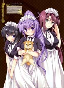Rating: Safe Score: 40 Tags: maid maid_sanshimai_chuusei_no_cerberus megane tateha User: drop