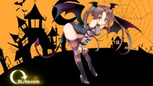 Rating: Safe Score: 34 Tags: dlsite.com halloween heels leotard pointy_ears see_through tagme tail thighhighs wallpaper wings User: Mr_GT