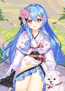 Rating: Safe Score: 32 Tags: binan_xian_lu hinanawi_tenshi kimono touhou User: Mr_GT