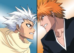 Rating: Safe Score: 5 Tags: bleach hitsugaya_toushirou kurosaki_ichigo male vector_trace User: charunetra