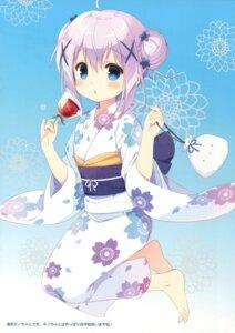 Rating: Safe Score: 62 Tags: gochuumon_wa_usagi_desu_ka? kafuu_chino santa_festa santa_matsuri yukata User: Twinsenzw