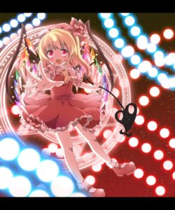 Rating: Safe Score: 24 Tags: flandre_scarlet kuromame_(8gou) touhou wings User: Nekotsúh