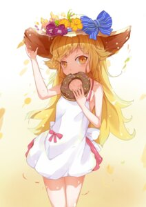 Rating: Safe Score: 37 Tags: bakemonogatari da_jiu_zhang_big9 dress oshino_shinobu summer_dress User: Lirsoas