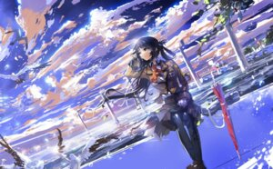 Rating: Safe Score: 44 Tags: nagi_no_asukara pantyhose seifuku shiodome_miuna stu_dts User: blooregardo