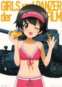 Rating: Safe Score: 20 Tags: bikini cleavage girls_und_panzer nakajima_satoko swimsuits User: drop