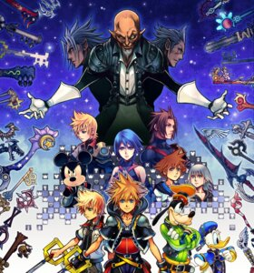 Rating: Safe Score: 20 Tags: aqua_(kingdom_hearts) donald_duck goofy kingdom_hearts mickey nomura_tetsuya riku_(kingdom_hearts) sora_(kingdom_hearts) sword User: Radioactive