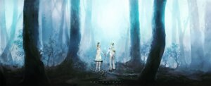 Rating: Safe Score: 17 Tags: kagamine_len kagamine_rin kaninn landscape vocaloid User: charunetra