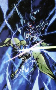 Rating: Safe Score: 13 Tags: gundam gundam_unicorn kshatriya mecha rezel User: Radioactive