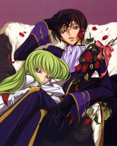 Rating: Safe Score: 25 Tags: c.c. chiba_yuriko code_geass lelouch_lamperouge User: Aurelia