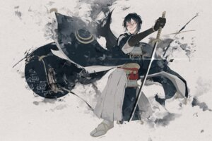 Rating: Safe Score: 11 Tags: male mikazuki_munechika pekemaru sword touken_ranbu User: animeprincess