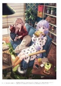 Rating: Questionable Score: 12 Tags: new_game! suzukaze_aoba tokunou_shoutarou yagami_kou User: kiyoe