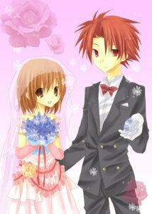 Rating: Safe Score: 2 Tags: dress kazeto_amane wedding_dress User: charunetra