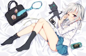 Rating: Safe Score: 85 Tags: feet neko sakuragi_ren seifuku User: Mr_GT