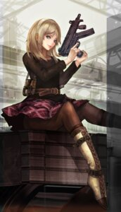 Rating: Safe Score: 55 Tags: gun n.a. pantyhose reanbell resonance_of_fate User: Akio-sama