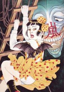 Rating: Questionable Score: 5 Tags: dress maruo_suehiro nihonga pantsu shoujo_tsubaki skirt_lift tsubaki_midori User: Anemone