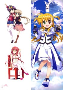 Rating: Safe Score: 26 Tags: chinadress corona_timir fujima_takuya heels heterochromia mahou_shoujo_lyrical_nanoha mahou_shoujo_lyrical_nanoha_vivid rio rio_wezley sacred_heart thighhighs uniform vivio User: drop