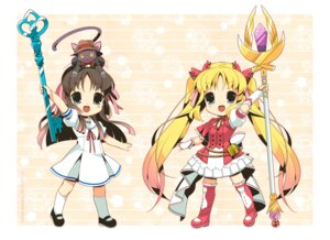 Rating: Safe Score: 5 Tags: chibi kirino_kasumu User: fireattack