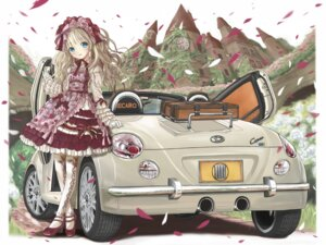 Rating: Safe Score: 34 Tags: lolita_fashion thighhighs tokino_ame User: van