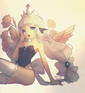Rating: Questionable Score: 52 Tags: bettols thighhighs wings User: blooregardo