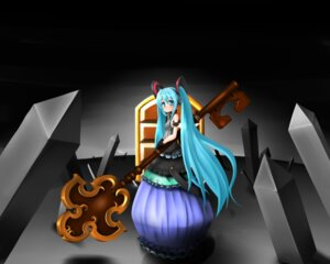 Rating: Safe Score: 2 Tags: dress hatsune_miku metafa vocaloid User: charunetra