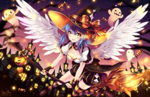 Rating: Safe Score: 26 Tags: bloomers halloween heels squ-chan thighhighs wings witch User: Mr_GT
