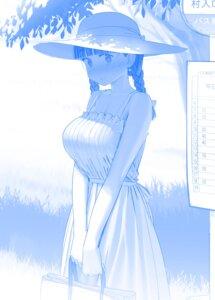 Rating: Safe Score: 25 Tags: dress getsuyoubi_no_tawawa himura_kiseki monochrome summer_dress tagme User: Spidey