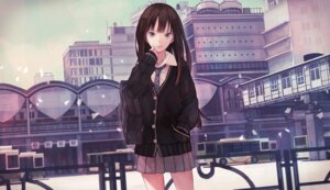 Rating: Safe Score: 31 Tags: seifuku shibuya_rin the_idolm@ster the_idolm@ster_cinderella_girls yasukura User: blooregardo