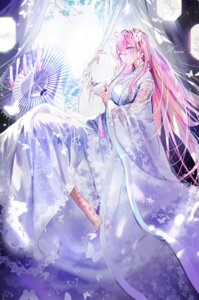 Rating: Safe Score: 68 Tags: japanese_clothes megurine_luka mullpull see_through tattoo vocaloid User: Mr_GT