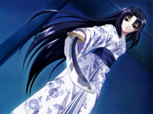 Rating: Safe Score: 15 Tags: akaiito hal screening senba_uzuki success sword yukata User: blooregardo