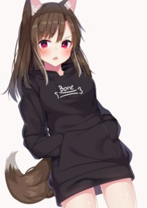 Rating: Safe Score: 54 Tags: animal_ears inumimi ryu_narb sweater tagme tail User: BattlequeenYume