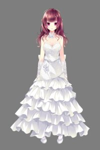 Rating: Safe Score: 74 Tags: cleavage dress ensemble_(company) golden_marriage hayakawa_harui heels ichijouji_touko transparent_png wedding_dress User: charunetra