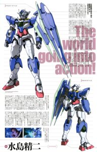 Rating: Safe Score: 4 Tags: 00_qan[t] character_design ebikawa_kanetake gundam gundam_00 gundam_00:_a_wakening_of_the_trailblazer male mecha setsuna_f_seiei User: Aurelia